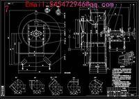 Wholesale 6 centrifugal fan C Drawings Full Machining drawings CAD