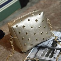 bags website - Korean Official Website With A Female Bag A Free Agent On Behalf Of The New Single Shoulder Diagonal Mini Rivet Bag