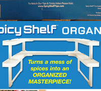 Wholesale Spicy Shelf Patented Stackable Universal Racks Spice Racks Multifunction Racks Adjustable Prateleira Shelves