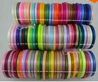 Wholesale 1 quot mm single face satin ribbon yards roll yard colors can option belt gift packing