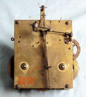 antique german clock - German made antique copper full Star brand model mechanical movement suitable clock bell Sanding