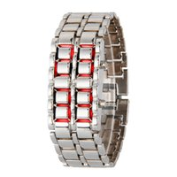 led lava watch - Lovers Lava Wrist Watch LED Watch Magma Watchband for Man Woman sw201