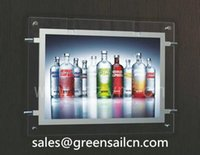 led box sign - Crystal light box movie picture Poster sign Display led A4 single side signs ibacklit signage display