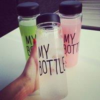 Wholesale 30pcs My Bottle ml Sport My Bottle Fashion Lemon Juice Readily Cup Space Cup Water Bottles Outdoor Sports Bike My Water Bottle