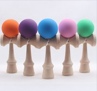 Wholesale Hot sale Big size cm Kendama Ball Japanese Traditional Wood Game Toy Education Gift colors