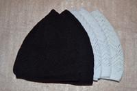 muslim prayer cap - High quality Men Beanie Muslim prayer cap Islamic Turkish Arabic hat white black navy gray