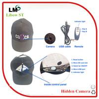 Espía al aire libre, conexión Wi Fi de Seguridad IP Tapa de la Cámara Oculta Inalámbrica Sombrero Cámara ST035