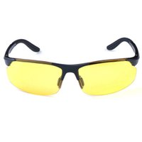 Acheter Meilleures lunettes de soleil gros-Objectif gros-Best Men Night Vision Glasses Driving Anti-éblouissement polarisées Crépuscule Lunettes de soleil