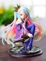 scale model figures - cm Sexy Anime No Game No Life Shiro Scale Boxed PVC Action Figure Toy Collection Model