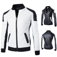 Wholesale Fall New Arrival Men s Casual Leather Jackets High Quality Winter Coat for man M XL Size men biker jacket