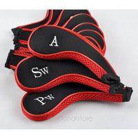 golf bags - 2015 Golf Club Iron Head Covers Bags Protect Headcover Suit Golf Club Headcover Bag PHM431