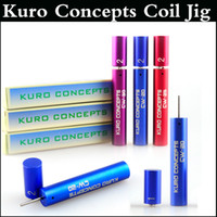 Wholesale Top quality Kuro Concepts Kuro Koiler Coil Jig for e Cigarette RDA RBA Wire Coiling Tool Atomizer Coil Koiler Wire Tool colors