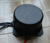 amp pots - FI stereo ring cow cover fully shielded toroidal transformer potting whole tube amp dedicated noise free