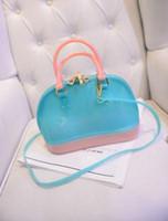 Wholesale High Quality women s lucency bag fashion handbags shoulder diagonal bag candy shell bag jelly bag tide m101