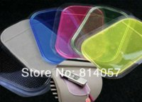 Wholesale 2000 Fedex Car Non Anti Slip Mat Pad Rubber for iPhone PU Powerful Silica Gel Magic Strong Sticky Pad