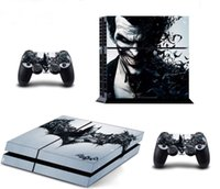 Cheap Cool Joker Decal Skin Stickers For Playstation 4 PS4 Console + 2 Pcs Stickers For PS4 Controller