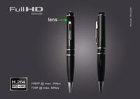 Wholesale 32GB GB GB HD P h Motion Detetction HDMI Port Memory Ball Pen Spy Camera Candid Hidden Camera