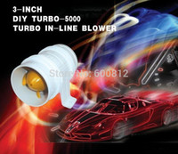 Wholesale Automobile modified Turbo charger DIY Turbo car parts Electronic turbocharger electric turbine Supercharger no mushroom
