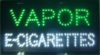 Wholesale 2016 Hot sale custom neon signs led neon vapor e cigarettes sign eye catching slogans board indoor size x13