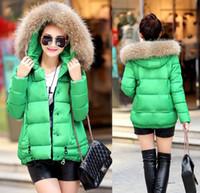 Wholesale 2015 new winter feather padded short size female Korean winter coat jacket A female jacket clearance