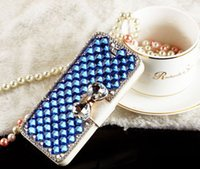 samsung cell phone - New For Iphone s Samsung NOte Note Cony Hair Phone s Cases Fashion Cell Phone Cases Cover Skin with Pearl Diamond Iphone Cases