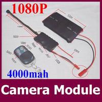 achat en gros de mouvement vidéo-Détecteur de mouvement HD 1080P DIY Module SPY Caméra cachée Vidéo MINI DV DVR Télécommande CCTV caméscope