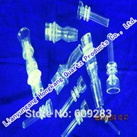 Wholesale domeless quartz nail with mm male joint with side pocket