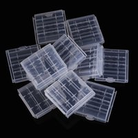 Wholesale x Plastic Case Holder Storage Box Cover for Rechargeable AA AAA Batteries High Quality