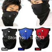 Wholesale Neoprene Neck Warm Half Face Mask Winter Veil Windproof For Sport Bike Bicycle Motorcycle Ski Snowboard Outdoor mask Xmas gift