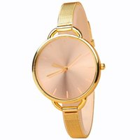 Wholesale Hot sale New Fashion Gold Watch Luxury Brand Women Dress Watches Quartz Casual Watch Wristwatch