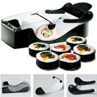 Wholesale Perfect DIY Roller Machine Roll Sushi Maker Easy Kitchen Magic Gadget Cooking Tools Curtain Bento Acessorios De Cozinha Rolls order lt no tr