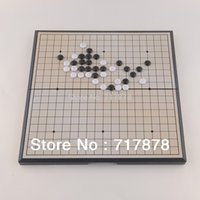 Wholesale HOT Quality Game of Go Go Board Game WeiQi Baduk Full Set Stone x18 Study Size