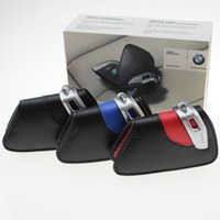 Wholesale Real leather car key case for bmw F15 F16 NEW X5 NEW X6 series active tourer i i