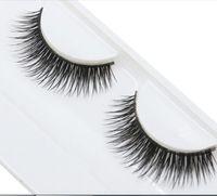 Wholesale New Design Pairs Fashion Natural Handmade Soft Long False Eyelashes Makeup Natural Beauty Dense Eyelashes