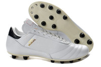 Wholesale New Copa Mundial FG Football Shoes Soccer Cleats white black soccer boots mens football boots size