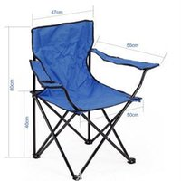 beach folding chairs - 2014 Wear resistant Elaborate Folding Camping Festival Beach Chair High Quality Leisure Occasional Portable Foldable Deck Seat
