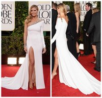 Wholesale Golden Globe Awards Heidi Klum One Shoulder Evening Dresse Fashion th Golden Globe Awards Dress