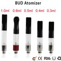 Wholesale BUD Touch O pen CE3 atomizer CBD hemp vaporizer e cigarette vape mods ecig Oil Cartridge tank wax vapor pen Cartridges