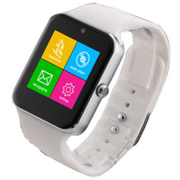 android communications - 2016 Fashion Smart Watch GV18 SF05 Support Micro SIM Card Camera NFC Communication Bluetooth
