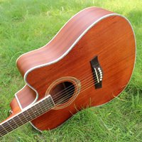 Wholesale 41 inches missing Angle folk acoustic guitar Beginners to practice piano jita sand Billy