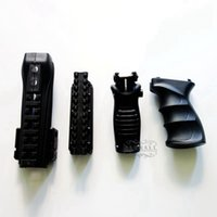 aeg ak - 4 in Handguard Picatinny Rail System Tactical Grip Foldable Hand ForeGrip Set for AK Series AEG pc