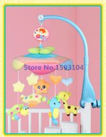 abs music box - kinds of styles Melodies Song Baby Mobile Crib ABS plastic and cloth soft Bed Bell Electric Autorotation Music Box