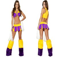 baby basketball costume - cosplay Disfraces The New Basketball Baby Cheerleader Cheerleading Costume Ds Lead Dancer Clothing European And American Singer Night