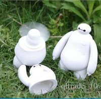 air conditioning charging - 200pcs LJJC1974 Hot Cartoon Big Hero6 BAYMAX Mini Portable USB Charging Fan Super Corp Mini student Hand Charging Air Conditioning Fan
