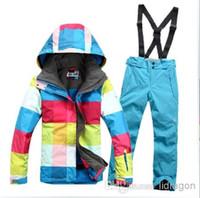 ski suit women - warm waterproof gsou snow colorful ski suit women snowsuit