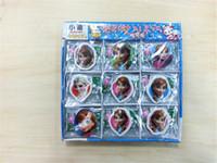 Wholesale 2014 Frozen Cartoon Elsa Anna Kids Childs Rubber Eraser Children School Stationery Eraser School Study Supplies Christmas Gifts