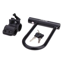 heavy bikes - Heavy Duty Mountain Road Cycling Bike Bicycle Motorcycle Scooter MTB Guard Anti theft Security U Lock with Bracket Key Y0001