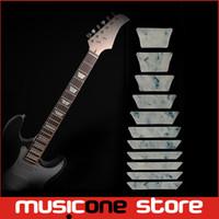 bass stickers - Guitar Bass Fret Sticker DIY sticker on guitar neck Trapezoid shape set MU1288