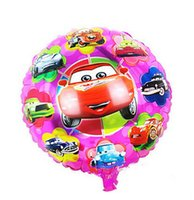 balloon stories - Cartoon Happy Birthday balloon Cars story quot INCH Round Balao for Party Supplies car helium baloons