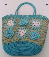 Wholesale Plumblossom Hand woven straw straw bag bag bag bag bag for Beach Holiday Beach bags DHL freeshipping